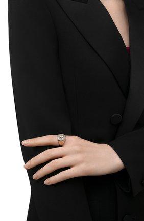 Женское кольцо VERSACE золотого цвета, арт. DG5G119/DJMT | Фото 2 (Материал: Металл; Статус проверки: Проверена категория)