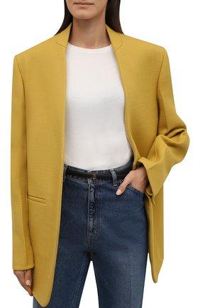 Женский кожаный ремень BURBERRY черного цвета, арт. 8009777 | Фото 2 (Статус проверки: Проверена категория, Проверено)