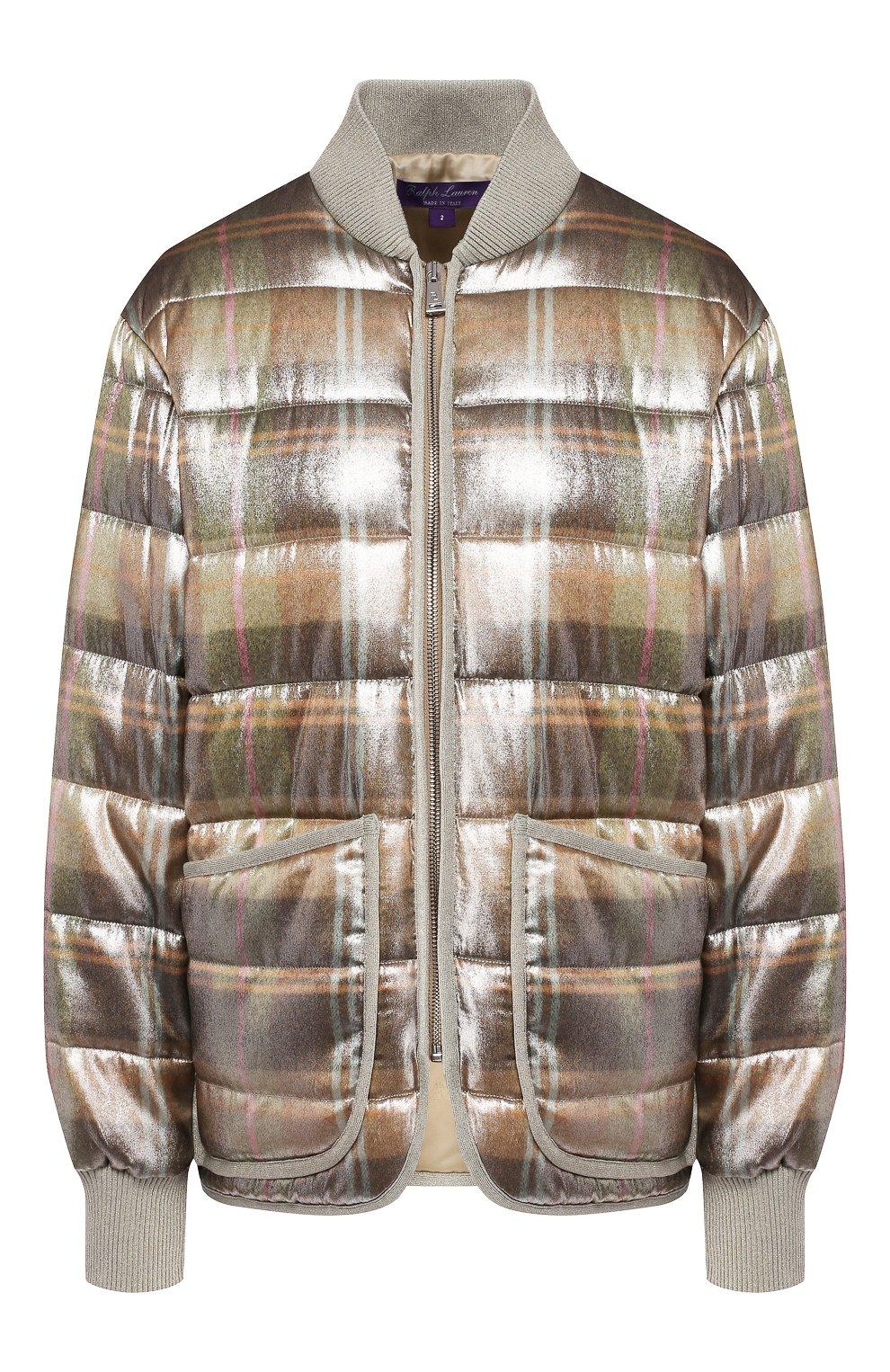 Куртка из смеси вискозы и шелка   Фото №1