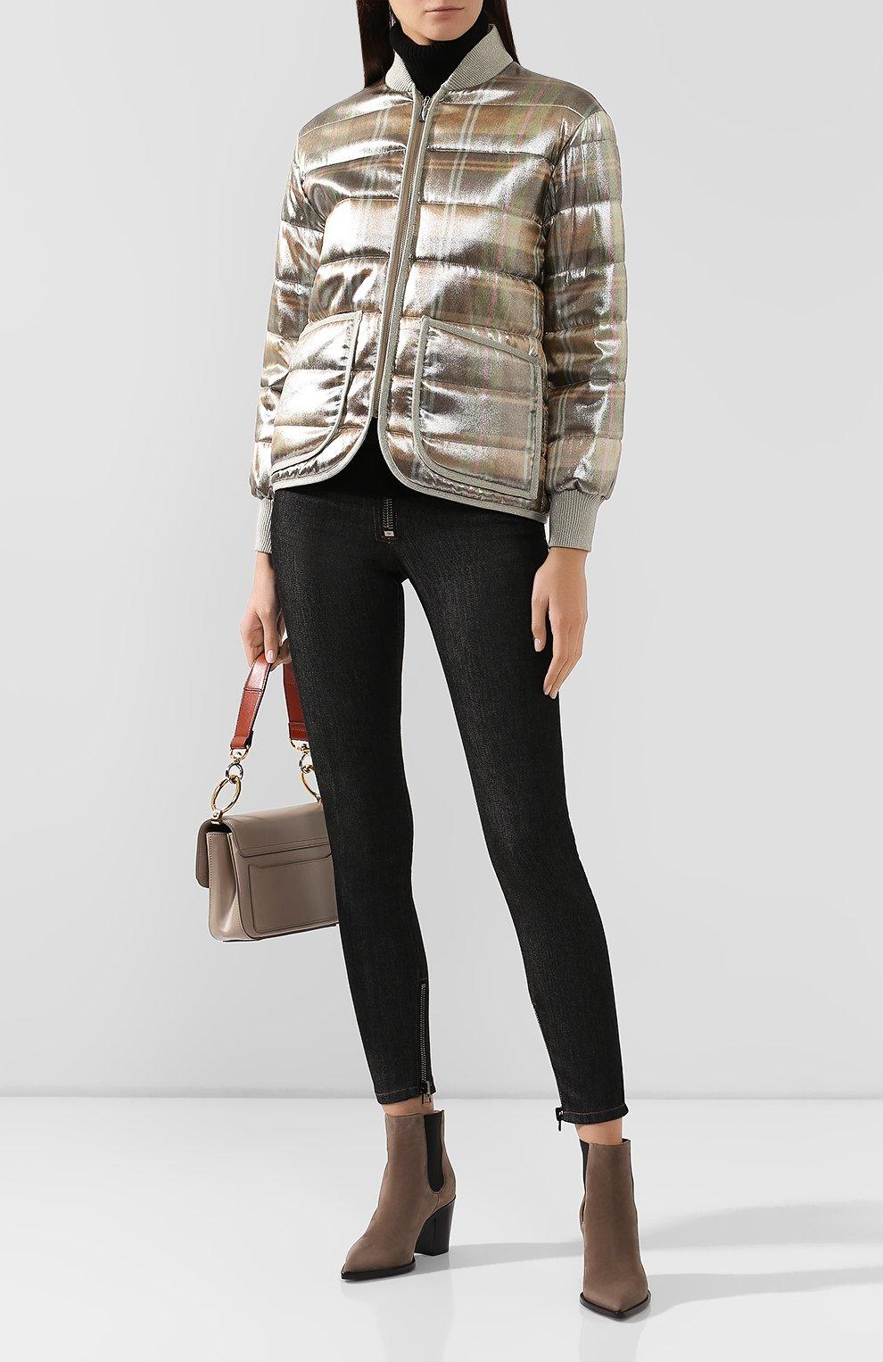 Куртка из смеси вискозы и шелка   Фото №2