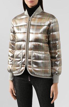 Куртка из смеси вискозы и шелка   Фото №3