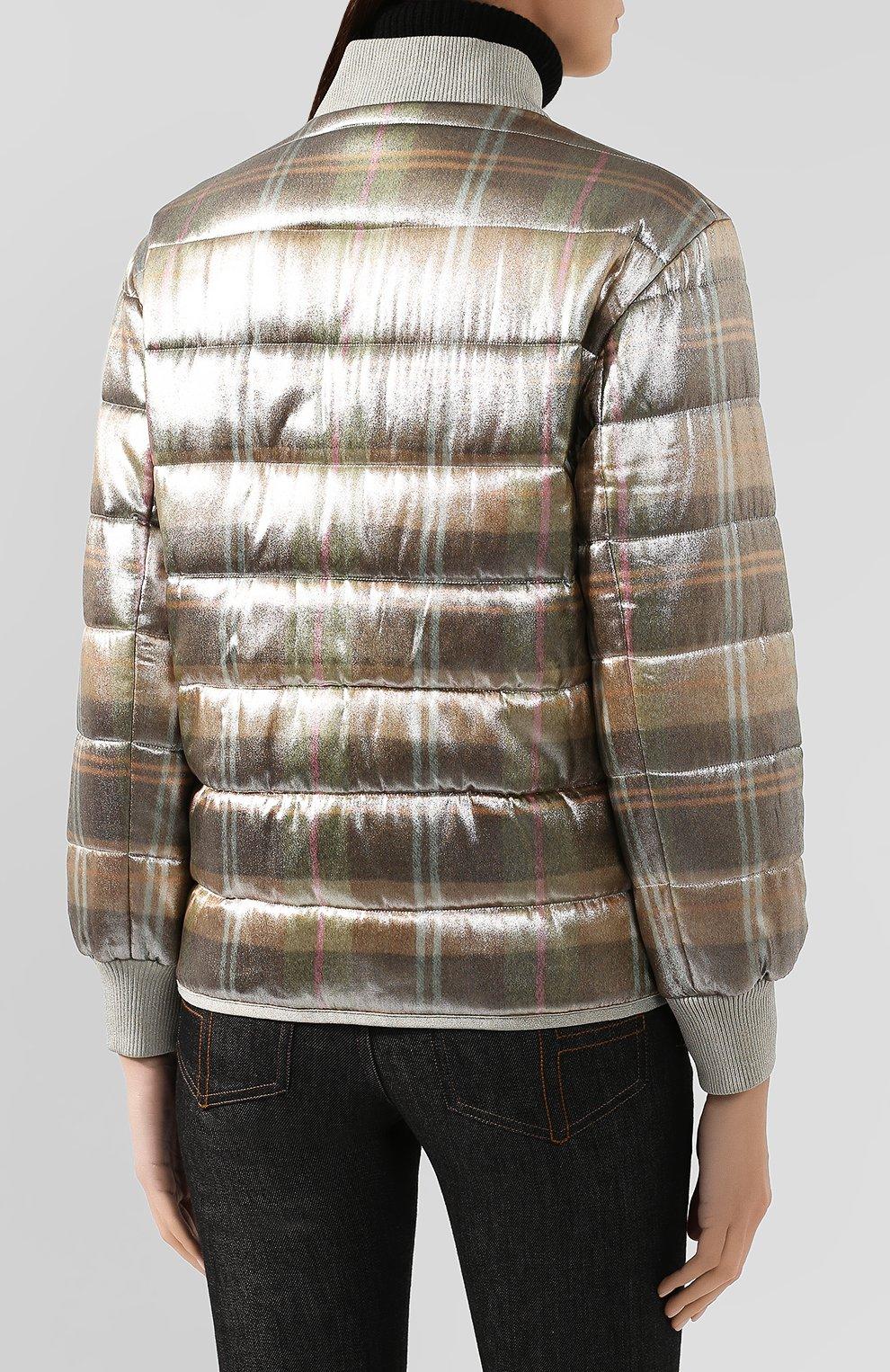 Куртка из смеси вискозы и шелка   Фото №4
