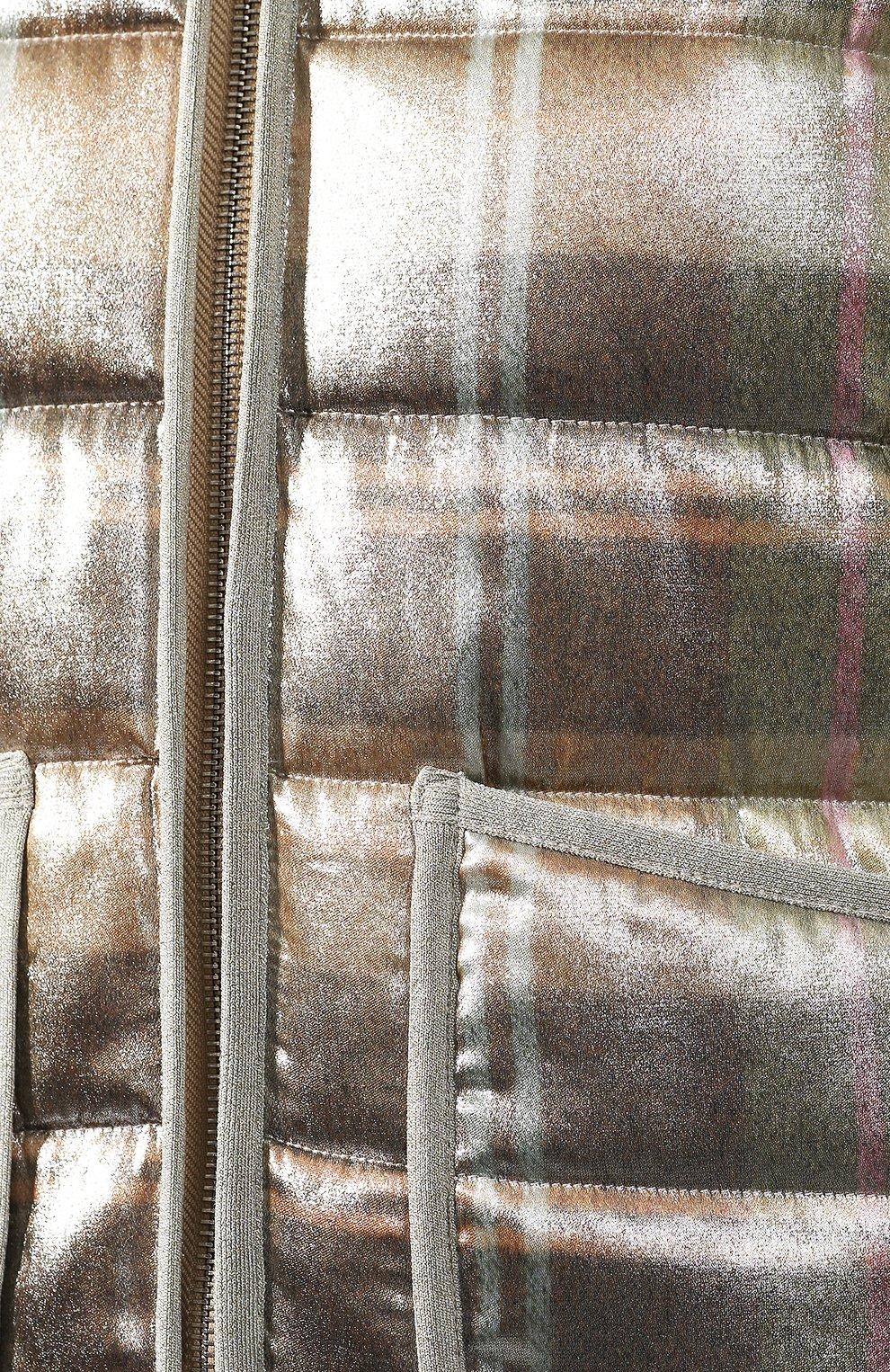 Куртка из смеси вискозы и шелка   Фото №5