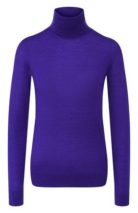 Женская кашемировая водолазка RALPH LAUREN фиолетового цвета, арт. 290615195 | Фото 1