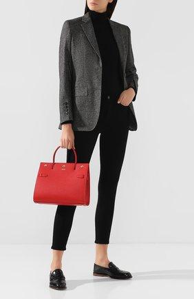 Женская сумка title small BURBERRY красного цвета, арт. 8016045   Фото 2