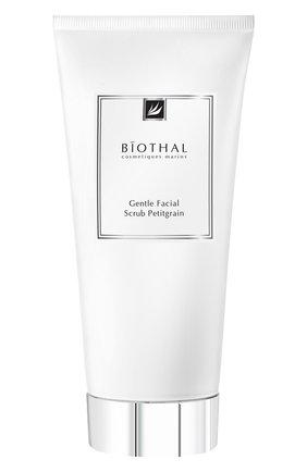 Женского очищающий скраб-пилинг для лица petitgrain BIOTHAL бесцветного цвета, арт. 4627145990544 | Фото 1
