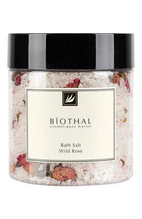 Женского соль для ванн wild rose BIOTHAL бесцветного цвета, арт. 7930077270071 | Фото 1