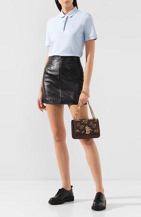 Женская сумка tb small BURBERRY коричневого цвета, арт. 8020325   Фото 2
