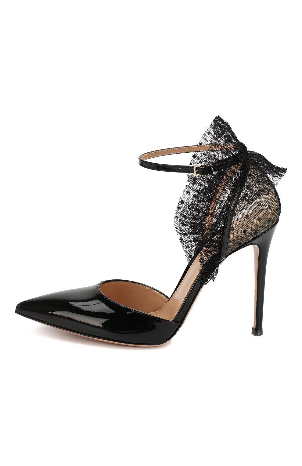Кожаные туфли Beatrice | Фото №3