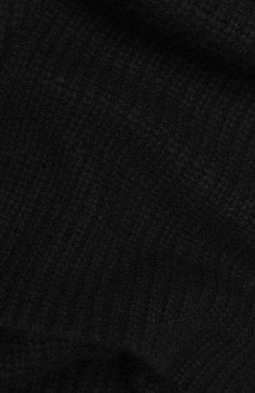 Женский кашемировый шарф WILLIAM SHARP черного цвета, арт. A111-1   Фото 2