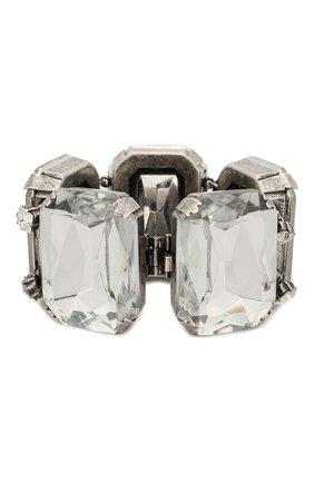 Женский браслет SAINT LAURENT серебряного цвета, арт. 594255/Y1526 | Фото 2