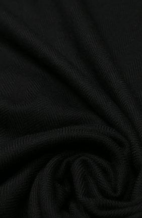Мужские шерстяной шарф CANADA GOOSE черного цвета, арт. 5352L | Фото 2