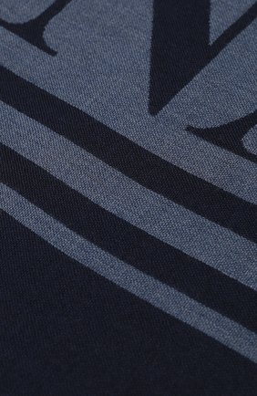 Мужские шерстяной шарф CANADA GOOSE синего цвета, арт. 5349L | Фото 2