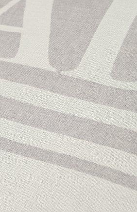 Мужские шерстяной шарф CANADA GOOSE серого цвета, арт. 5349L | Фото 2