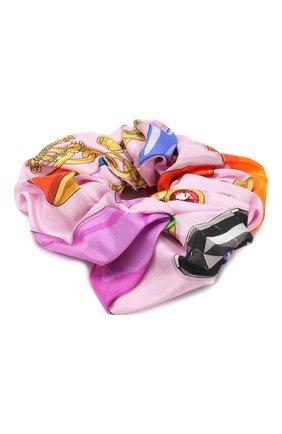 Женская резинка для волос VERSACE разноцветного цвета, арт. IELA002/A231969 | Фото 1