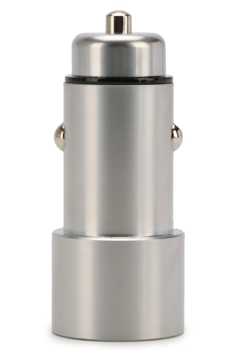 Мужской автомобильное зарядное устройство UBEAR серого цвета, арт. CC04GR01-AD | Фото 1