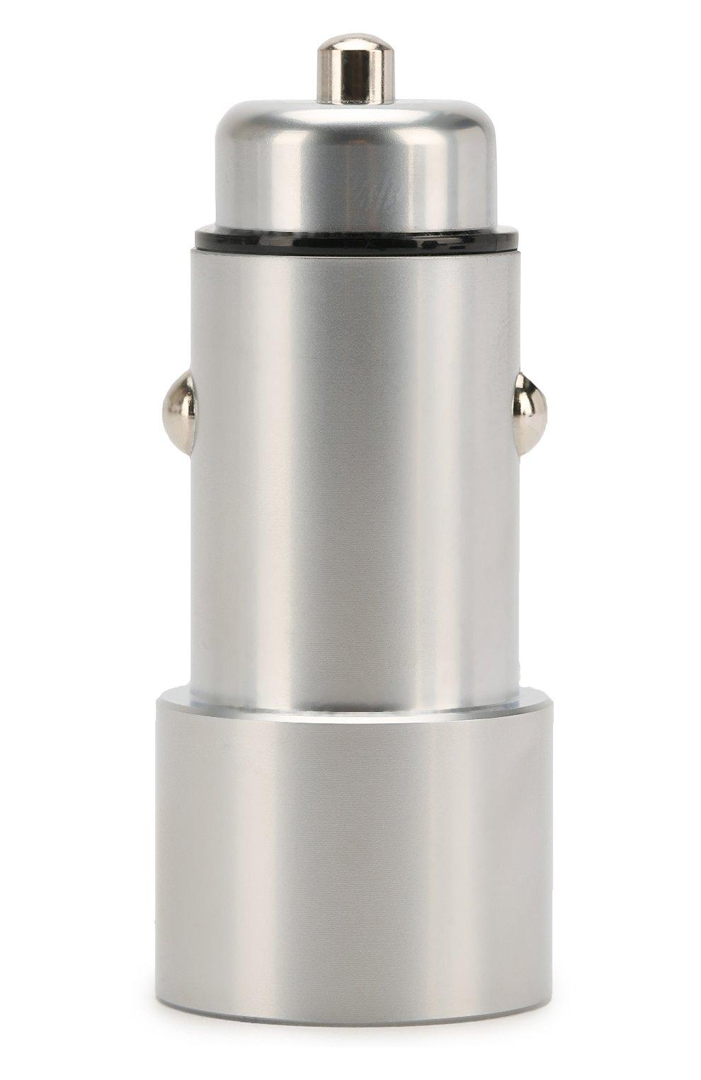 Мужского автомобильное зарядное устройство UBEAR серого цвета, арт. CC03GR01-AD   Фото 1