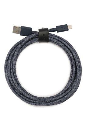 Мужской кабель lightning/usb NATIVE UNION синего цвета, арт. BELT-KV-L-IND-3 | Фото 1
