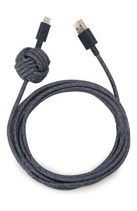 Мужской кабель lightning/usb NATIVE UNION синего цвета, арт. NCABLE-KV-L-IND | Фото 1