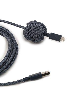 Мужской кабель lightning/usb NATIVE UNION синего цвета, арт. NCABLE-KV-L-IND | Фото 2