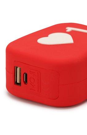 Мужского портативный аккумулятор moji like MOJI POWER красного цвета, арт. MP001ML | Фото 2
