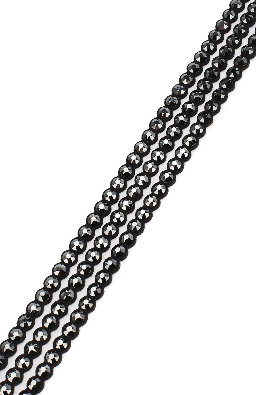 Женский браслет power collection SWAROVSKI черного цвета, арт. 5512512 | Фото 3