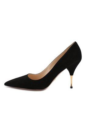 Замшевые туфли | Фото №2