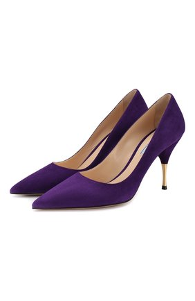 Замшевые туфли | Фото №1
