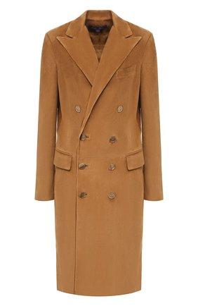 Замшевое пальто | Фото №1