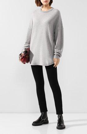 Женский кашемировый свитер EXTREME CASHMERE серого цвета, арт. 102/HERE   Фото 2