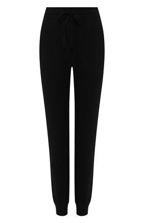 Женские кашемировые джоггеры DOLCE & GABBANA черного цвета, арт. FX552T/JAWQU | Фото 1
