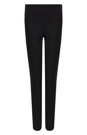 Женские брюки из смеси хлопка и вискозы POLO RALPH LAUREN черного цвета, арт. 211782173 | Фото 1
