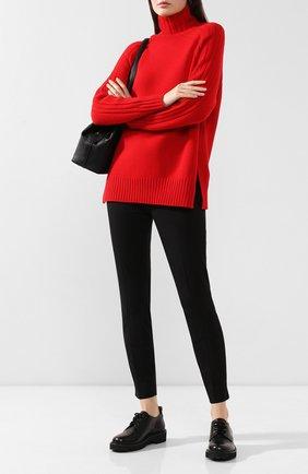 Женские брюки из смеси хлопка и вискозы POLO RALPH LAUREN черного цвета, арт. 211782173 | Фото 2