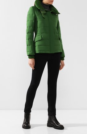 Женский утепленная куртка LORO PIANA зеленого цвета, арт. FAI8094   Фото 2