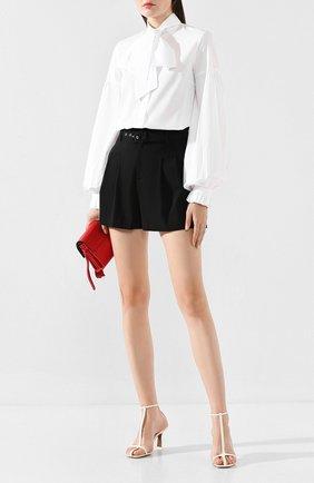 Женская хлопковая блузка WANDERING белого цвета, арт. WGW19204 | Фото 2