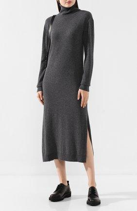 Женское кашемировое платье PRINGLE OF SCOTLAND серого цвета, арт. WDF027 | Фото 2