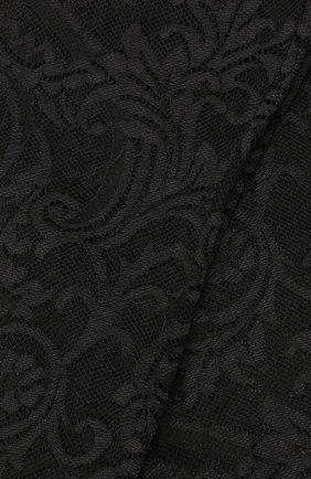 Женские кружевные колготки VERSACE черного цвета, арт. AUD30015/AZ00018 | Фото 2