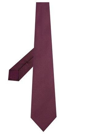 Мужской шелковый галстук BRIONI фиолетового цвета, арт. 062H00/08436 | Фото 2