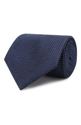 Мужской шелковый галстук BRIONI синего цвета, арт. 062H00/08440   Фото 1