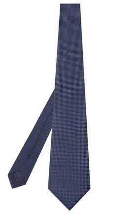 Мужской шелковый галстук BRIONI синего цвета, арт. 062H00/08440   Фото 2