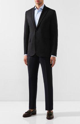 Мужской шерстяной пиджак BRIONI темно-серого цвета, арт. UJBD0L/08631 | Фото 2