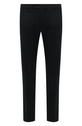 Мужские брюки из шерсти и кашемира ANDREA CAMPAGNA зеленого цвета, арт. SC/1/FA2064 | Фото 1 (Материал внешний: Шерсть; Длина (брюки, джинсы): Стандартные; Материал подклада: Купро; Случай: Формальный; Стили: Классический)