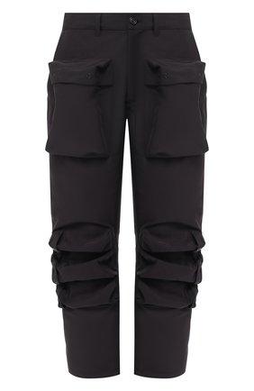 Мужской брюки PAUL&SHARK черного цвета, арт. I19NW4237   Фото 1