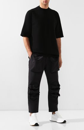 Мужской брюки PAUL&SHARK черного цвета, арт. I19NW4237   Фото 2