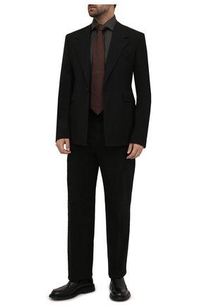 Мужская хлопковая сорочка ERMENEGILDO ZEGNA хаки цвета, арт. 601065/9MS0BR | Фото 2