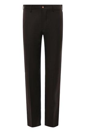 Мужской шерстяные брюки ZILLI коричневого цвета, арт. M0S-40-38N-B6406/0001 | Фото 1