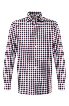 Мужская хлопковая рубашка LUIGI BORRELLI разноцветного цвета, арт. EV08/NAND0/TS6793 | Фото 1