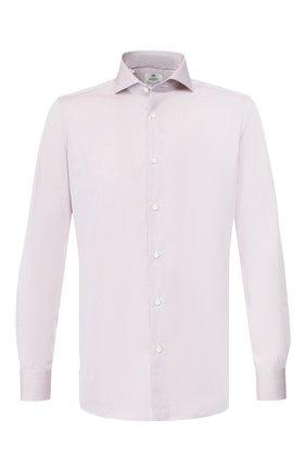 Мужская хлопковая сорочка LUIGI BORRELLI темно-бежевого цвета, арт. EV08/FELICE/TS8766 | Фото 1