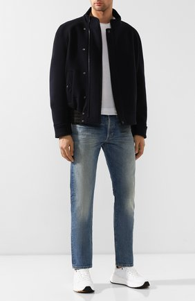 Мужские джинсы TOM FORD синего цвета, арт. BTJ11/TFD002 | Фото 2