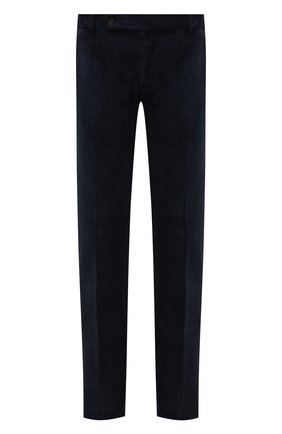 Мужские хлопковые брюки ANDREA CAMPAGNA темно-синего цвета, арт. SC/1/DV0001   Фото 1